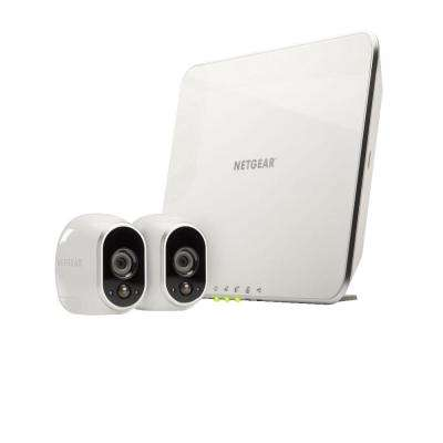 Arlo Smart Home Wireless 1280TVL Indoor/Outdoor 2 HD Security Camera with Night Vision