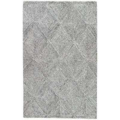 Whisper White 5 ft. x 8 ft. Tribal Area Rug
