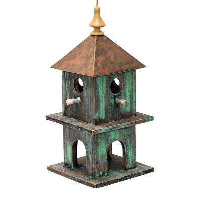 18 in. Tall Green Artful House