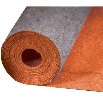 Best 400 in. x 36 in. x 1/8 in. Acoustical Recycled Fiber Underlayment with Film for Laminate Wood