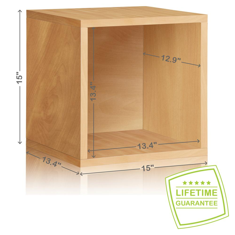 Way Basics Blox System 13.4 In. X 15 In. X 15 In. Stackable