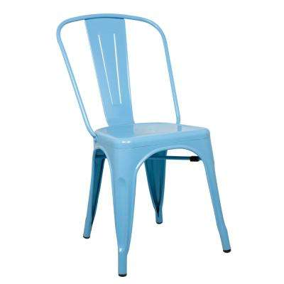 Blue Talix Dining Chair