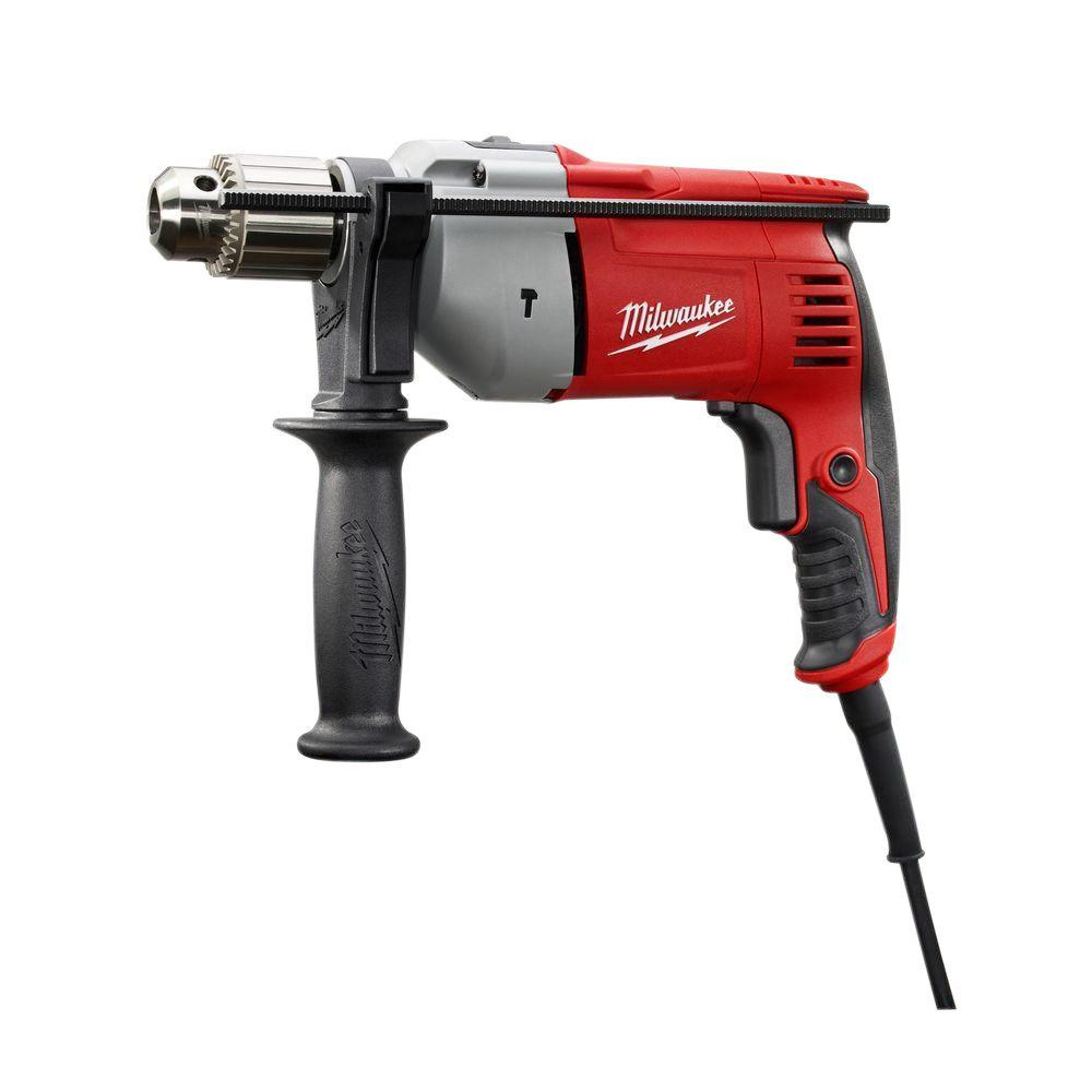 Milwaukee 8 Amp Corded 1/2 in. Hammer Drill Driver