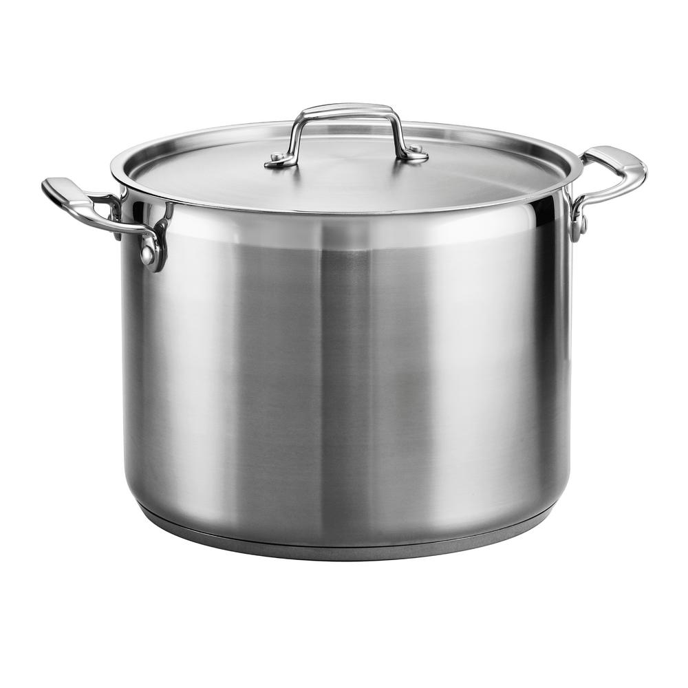 Tramontina Gourmet 16 Qt Stainless Steel Stock Pot With