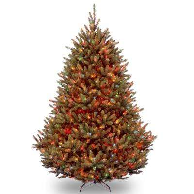 6-1/2 ft. Natural Fraser Medium Fir Hinged Tree with 650 Multi-Lights