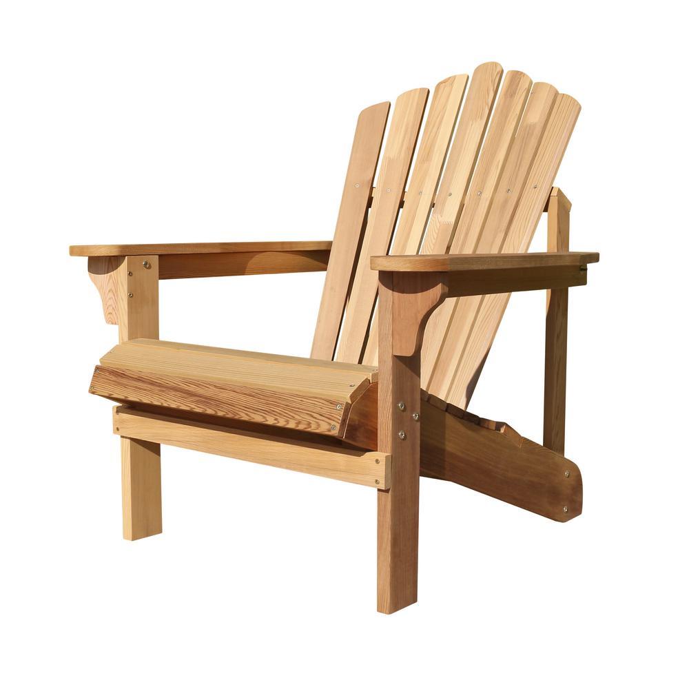Riverside Wood Adirondack Chair (1-Pack)