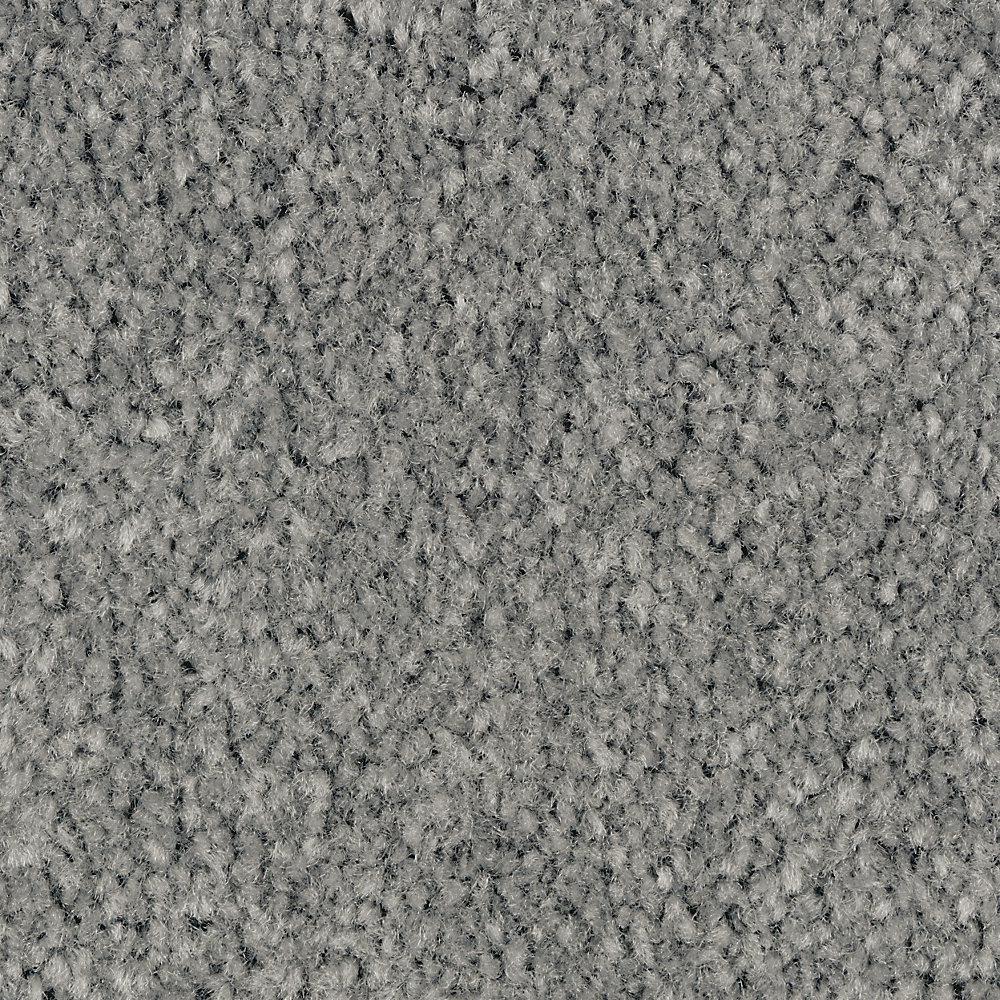 Carpet Sample - Mason II - Color Seastone Texture 8 in. x 8 in.
