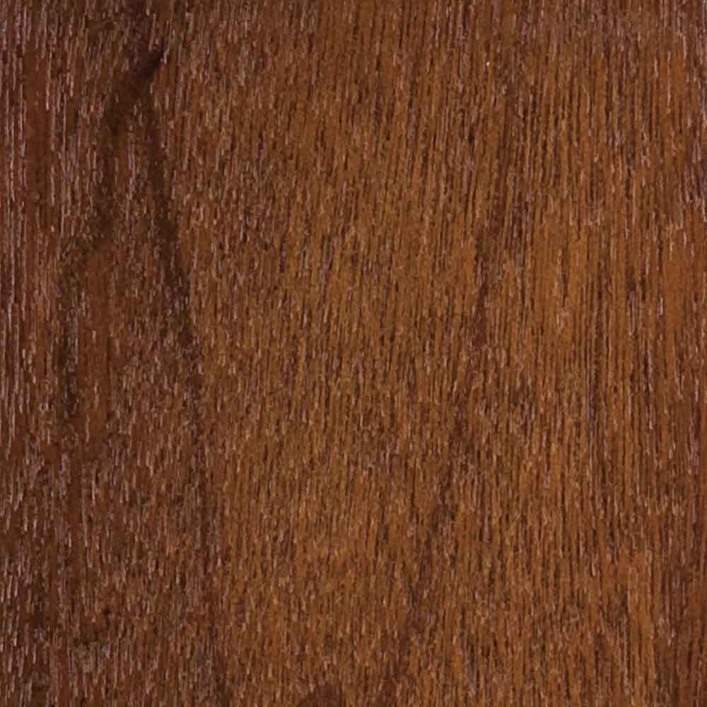 Wood Garage Door Sample In Meranti With Dark
