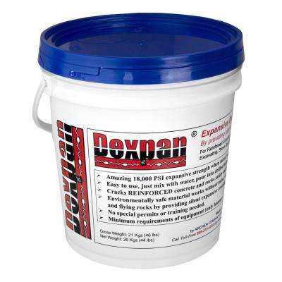 44 lb. Bucket Type 3 (23F-50F) Expansive Demolition Grout for Concrete Rock Breaking and Removal