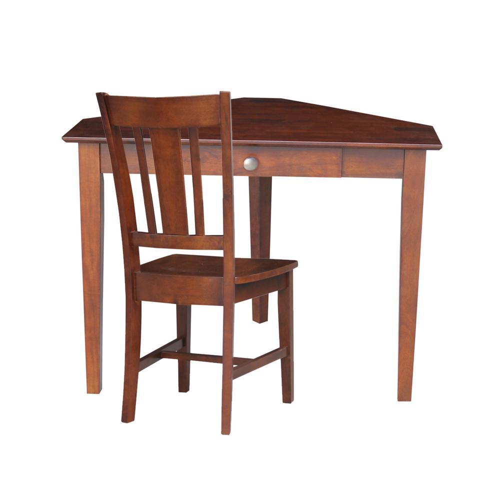 Page Furniture: International Concepts Espresso Desk-K581-OF-48-C10