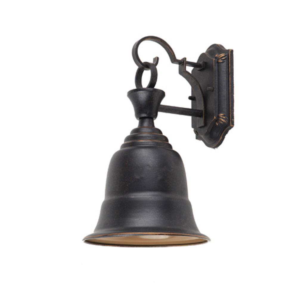 Y Decor Liberty 1 Light Oil Rubbed Bronze Outdoor Sconce