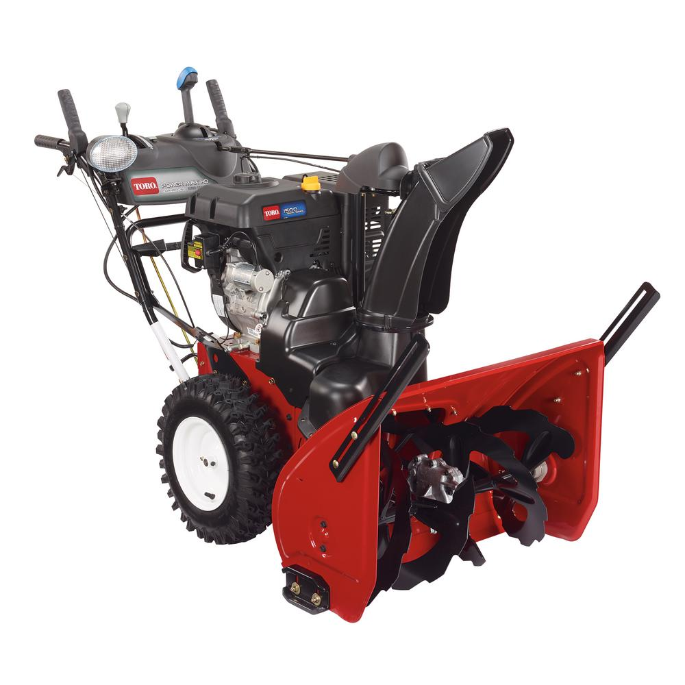 gas snow blower toro power max hd 1028 ohxe 28 in 302cc two 10910