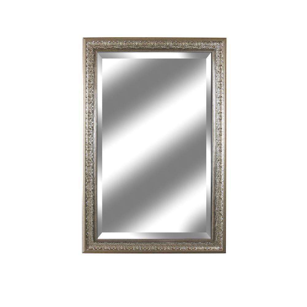 Mark V Series Beveled Champagne Wall Mirror