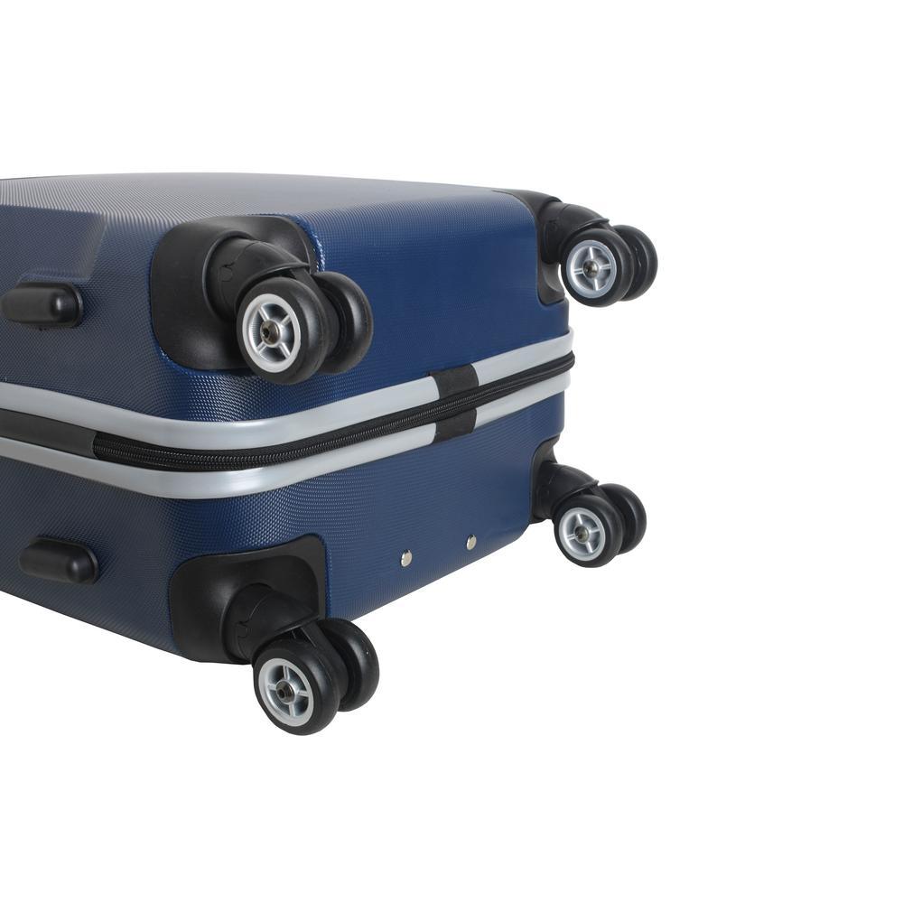 Navy Denco NHL Vegas Golden Knights Carry-On Hardcase Luggage Spinner