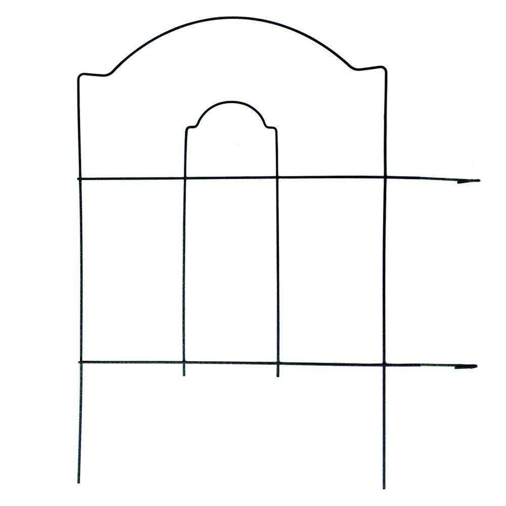 18 in. Cathedral Steel Wire Folding Fence