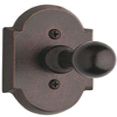 Venetian Bronze Arch Top Single Robe Hook