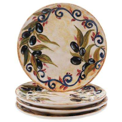 Umbria 8.5 in. Salad and Dessert Plate (Set of 4)
