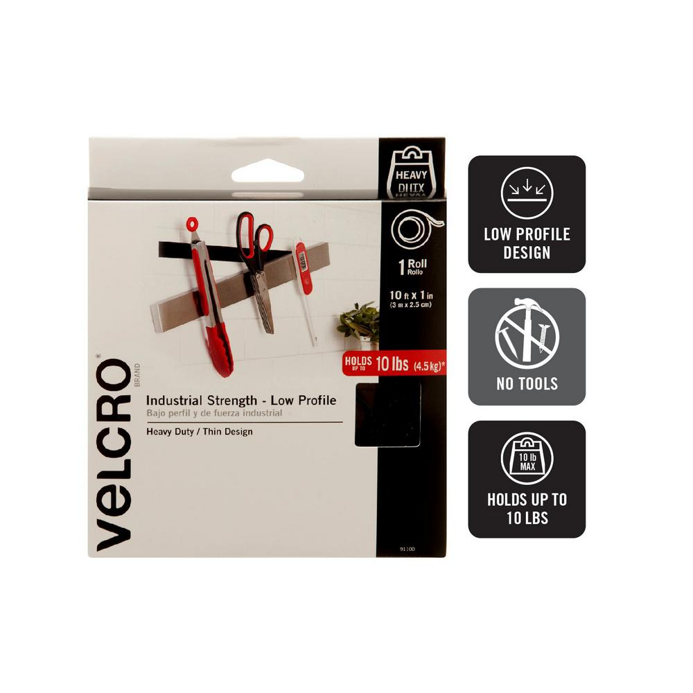 Velcro Brand 10 Ft X 1 In Ultra Mate Tape 91100 The