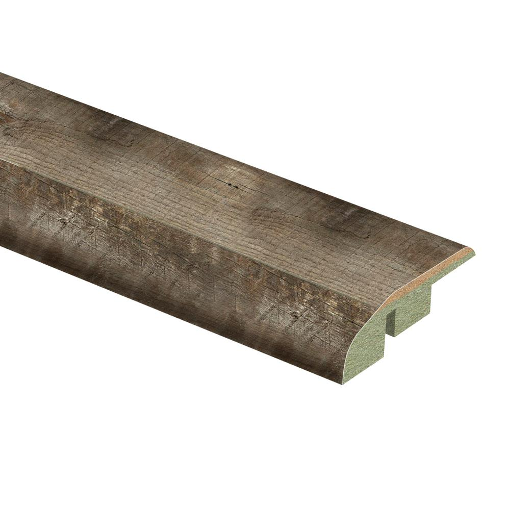 Zamma Radcliffe Aged Hickory 1/2 in. Thick x 1-3/4 in. Wide x 72 in. Length Laminate Multi-Purpose Reducer Molding