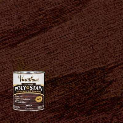 1 qt. Kona Satin Oil-Based Interior Stain and Polyurethane