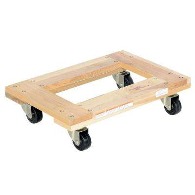 16 in. x 24 in. 900 lb. Open Deck Hardwood Dolly
