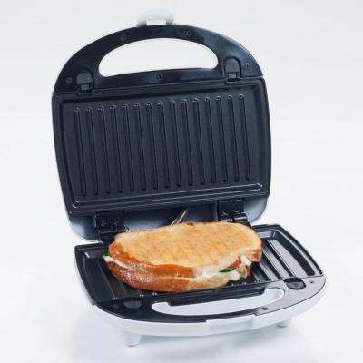 3-in-1 Nonstick Panini Press