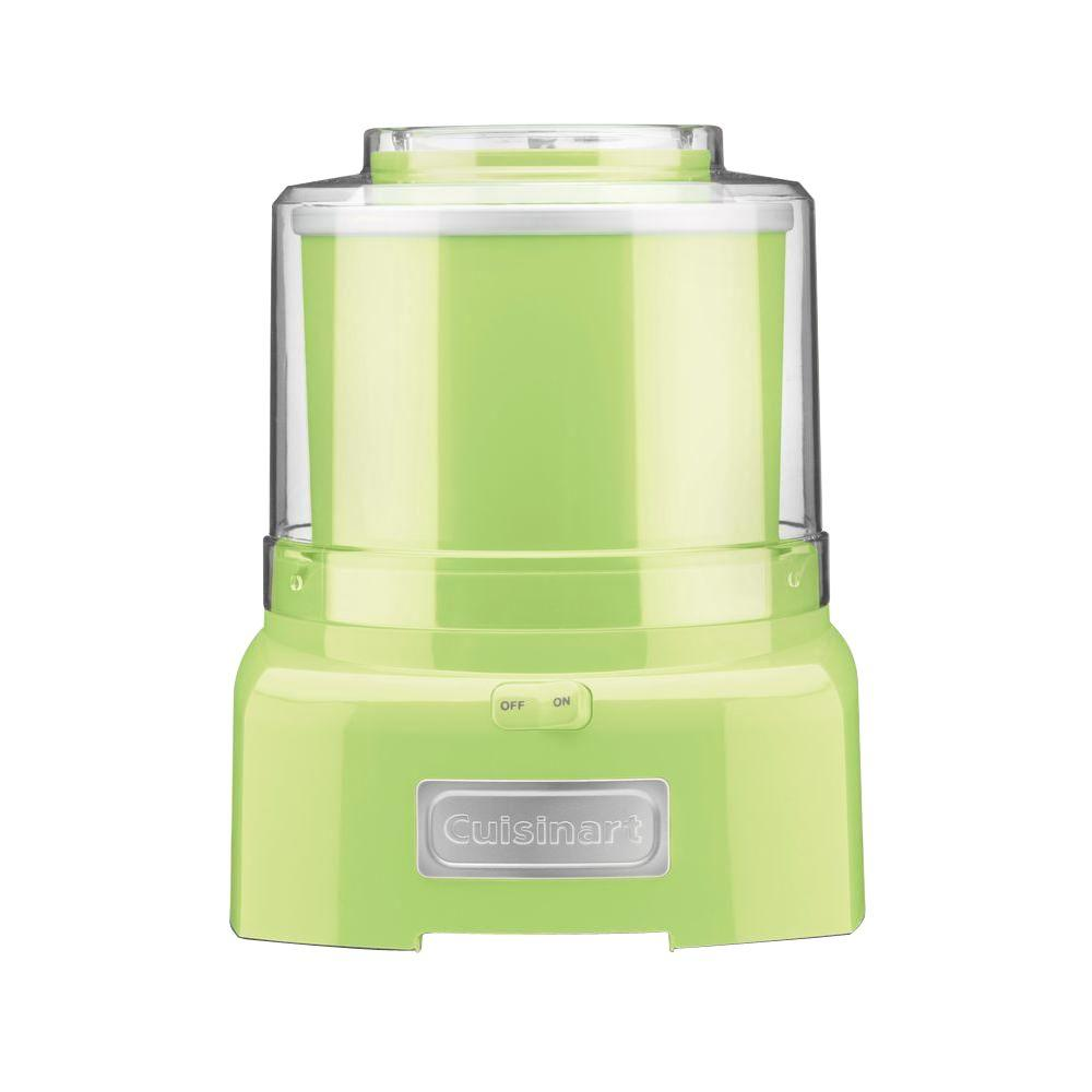 Cuisinart 1.5 qt. Frozen Yogurt, Ice Cream and Sorbet Maker in Key Lime-DISCONTINUED
