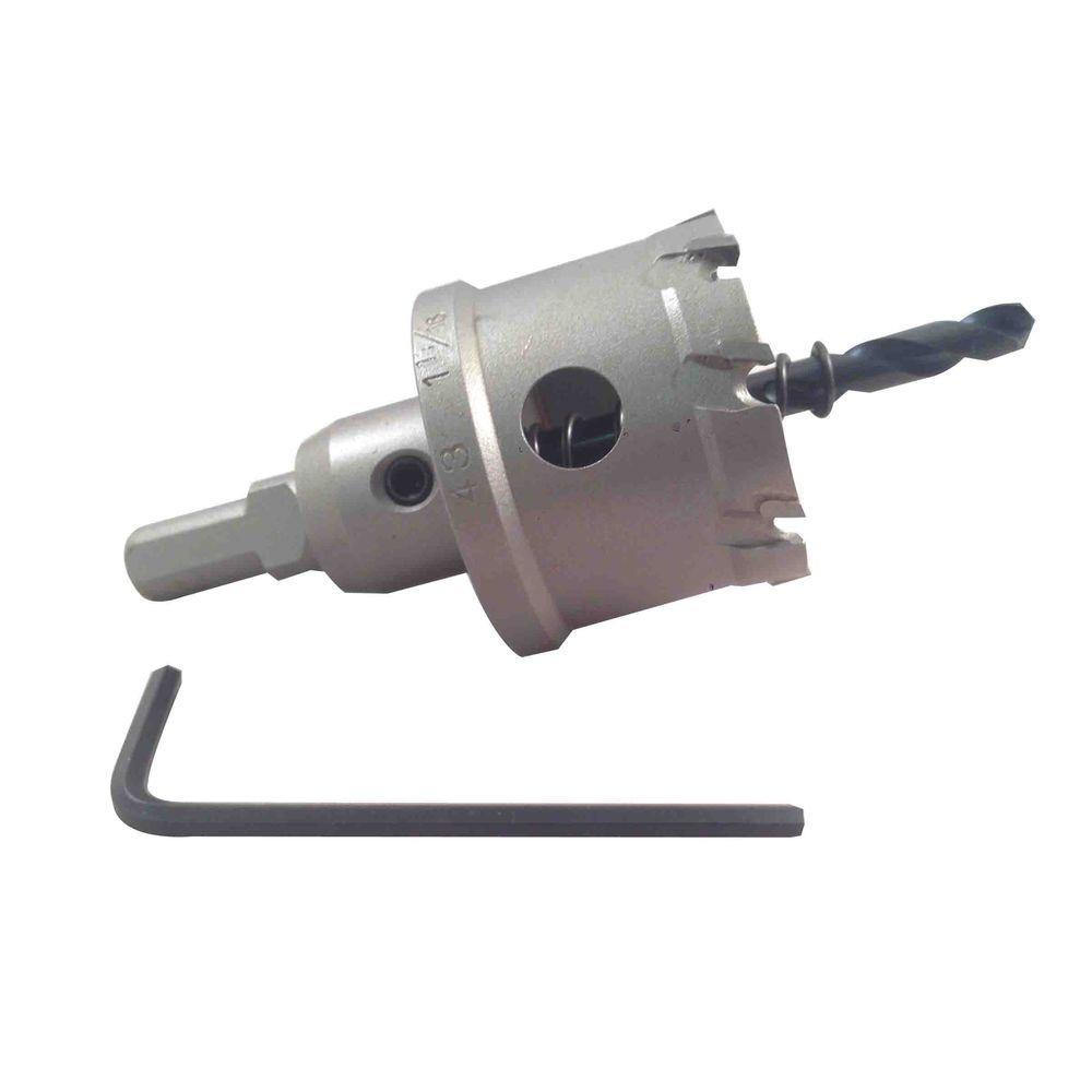 BLU-MOL 1-11/16 inch Xtreme Tri-Cut Tungsten Carbide Hole Cutter by BLU-MOL