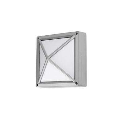 Oxford Gray Outdoor Integrated LED Wall Mount Sconce