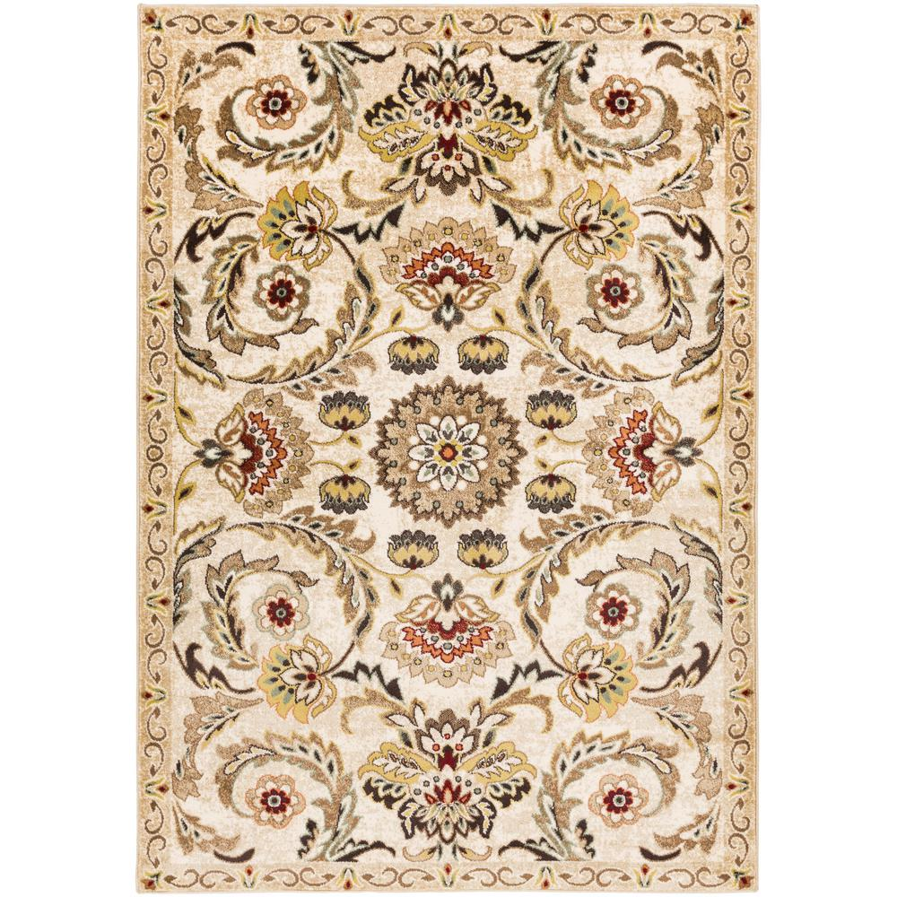 Crete Rowan Ivory 2 ft. x 3 ft. Indoor Area Rug