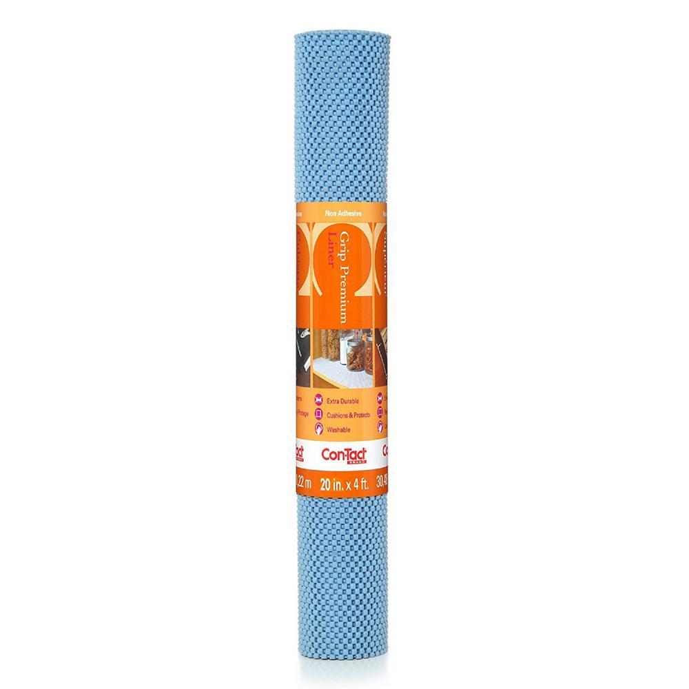 Con Tact Grip Premium 20 In X 4 Ft Slate Blue Non