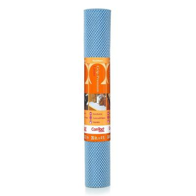 Grip Premium 20 in. x 4 ft. Slate Blue Non-Adhesive Thick Grip Drawer and Shelf Liner (6 Rolls)