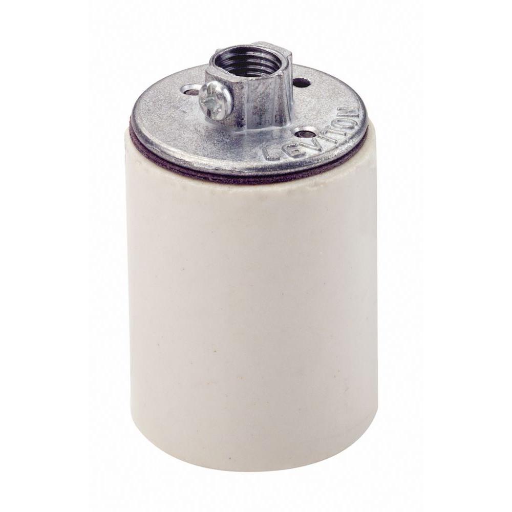 600-Watt Keyless Incandescent Porcelain Lamp Holder