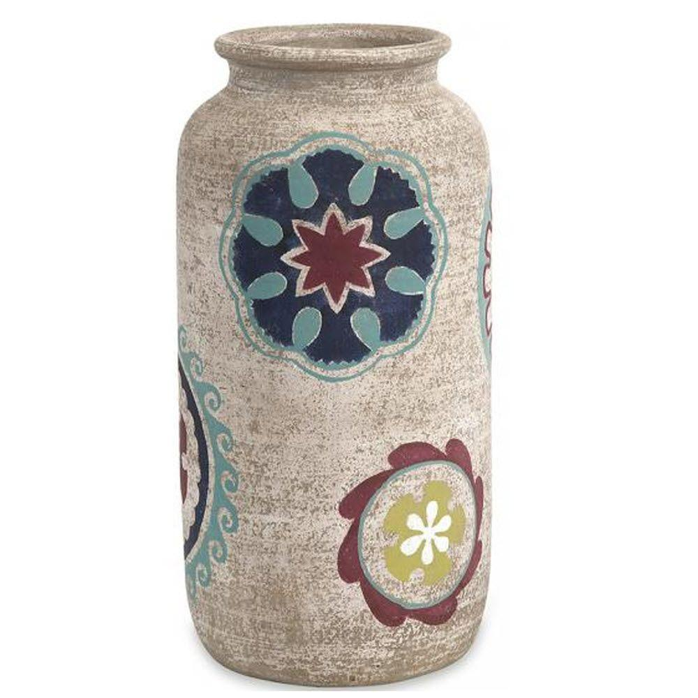 Home Decorators Collection Nevis 16 in. H Hand Painted Vase