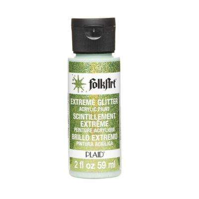 2 oz. Peridot Extreme Glitter Craft Paint