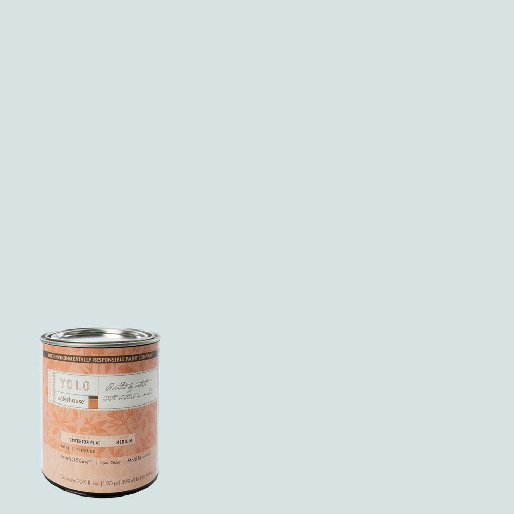 YOLO Colorhouse 1-Qt. Air .06 Flat Interior Paint-DISCONTINUED