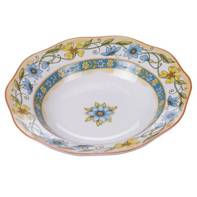 Torino Multi-Colored 13.5 in. Serving/Pasta Bowl