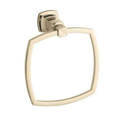 Margaux Towel Ring in Vibrant French Gold