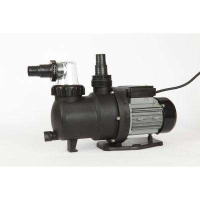 Prime Above Ground 0.75 HP Pool Pump 2300 GPH, 115-Volt, 30 ft. Max Head
