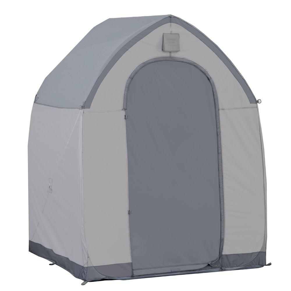 Portable Storage House Shed-SHSM655 - The Home Depot  sc 1 st  The Home Depot & FlowerHouse 5 ft. x 5 ft. Portable Storage House Shed-SHSM655 ...