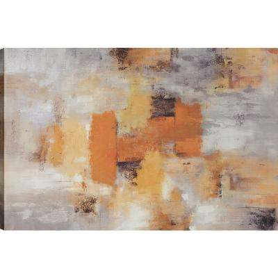 Dust, Abstract Art, Canvas Print Wall Art Dcor 24X36 Ready to hang by ArtMaison.ca