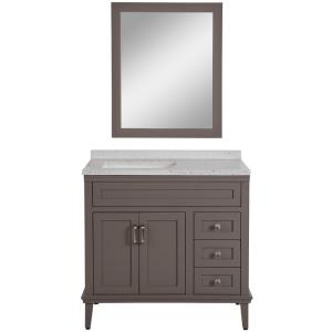 Deals on Home Decorators Collection Abbotsford 37.6 in W Vanity