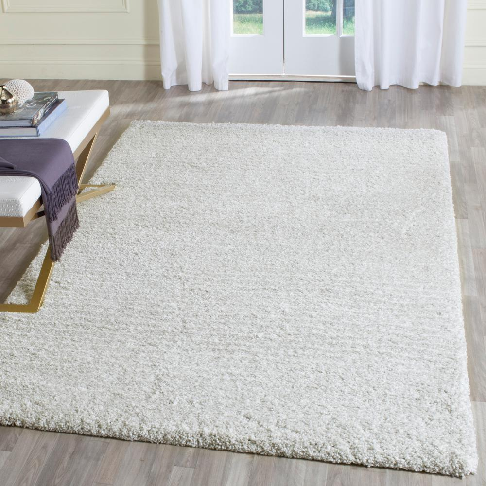 Safavieh Ultimate Silver Ivory 5 Ft X 8 Area Rug 4