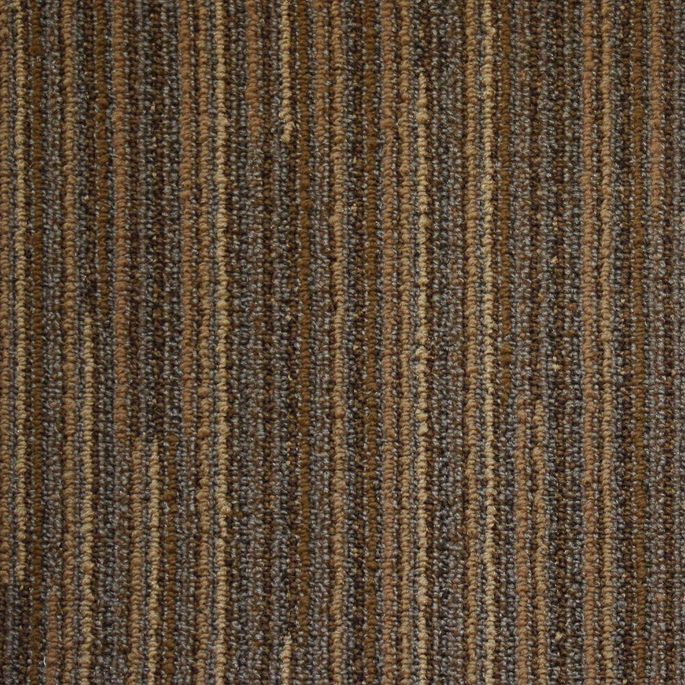 null Southampton Soft Copper 19.7 in. x 19.7 in. Commercial Carpet Tile (20 Tiles/Case)