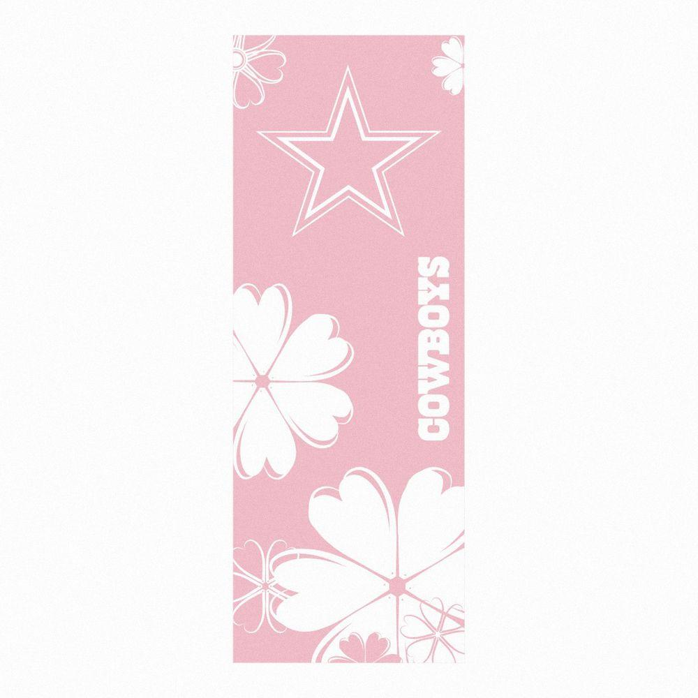 FANMATS Dallas Cowboys 24 in. x 67.5 in. Yoga Mat-DISCONTINUED