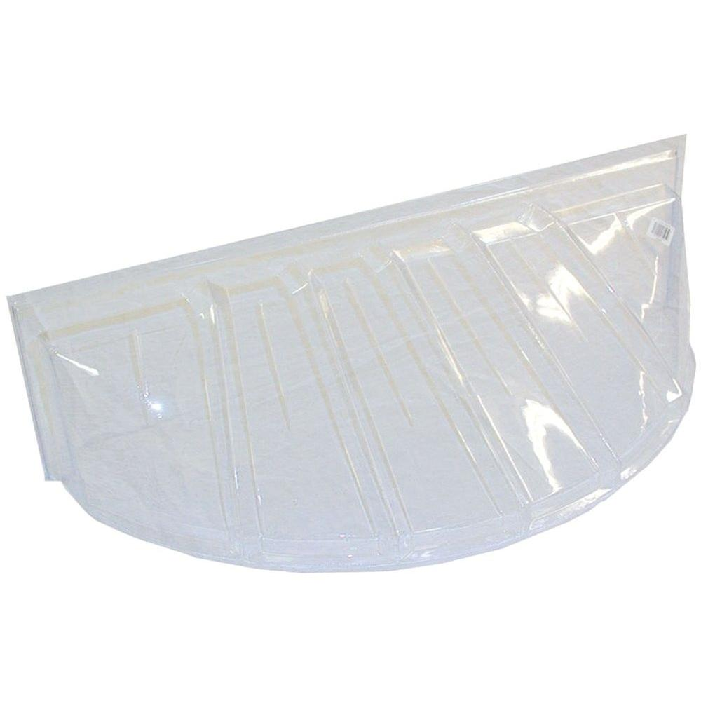 MacCourt 19 in. x 15 in. Polyethylene Reversible Heavy-Duty Window Well Cover