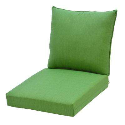 Fern 2-Piece Deep Seating Outdoor Lounge Chair Cushion