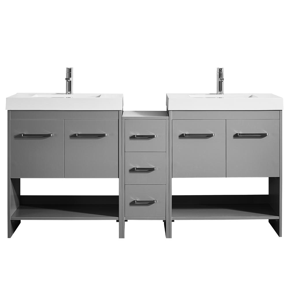 Vanity Cabinet Claret Suede Photo 1605