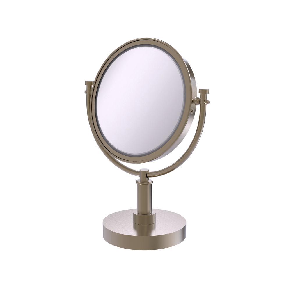 Allied Brass 15 in. x 8 in. Vanity Top Make-Up Mirror 4x ...