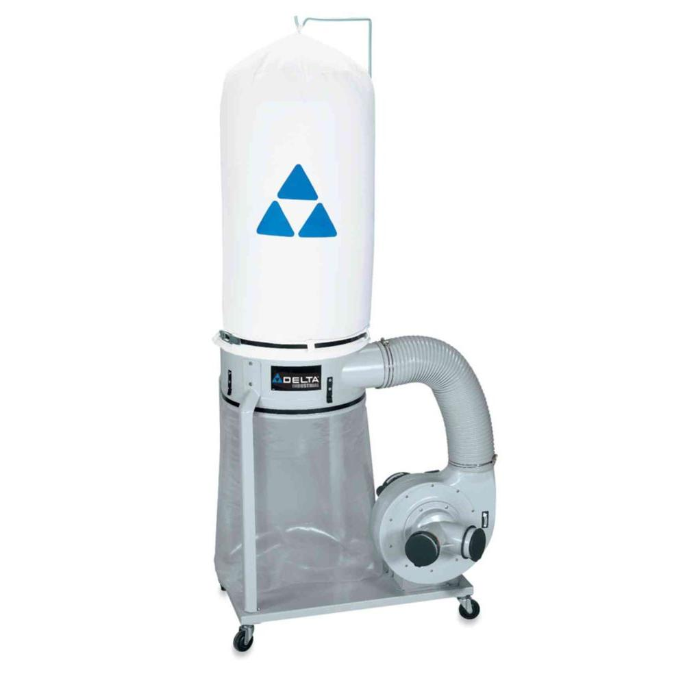 Delta 1-1/2 HP Dust Collector